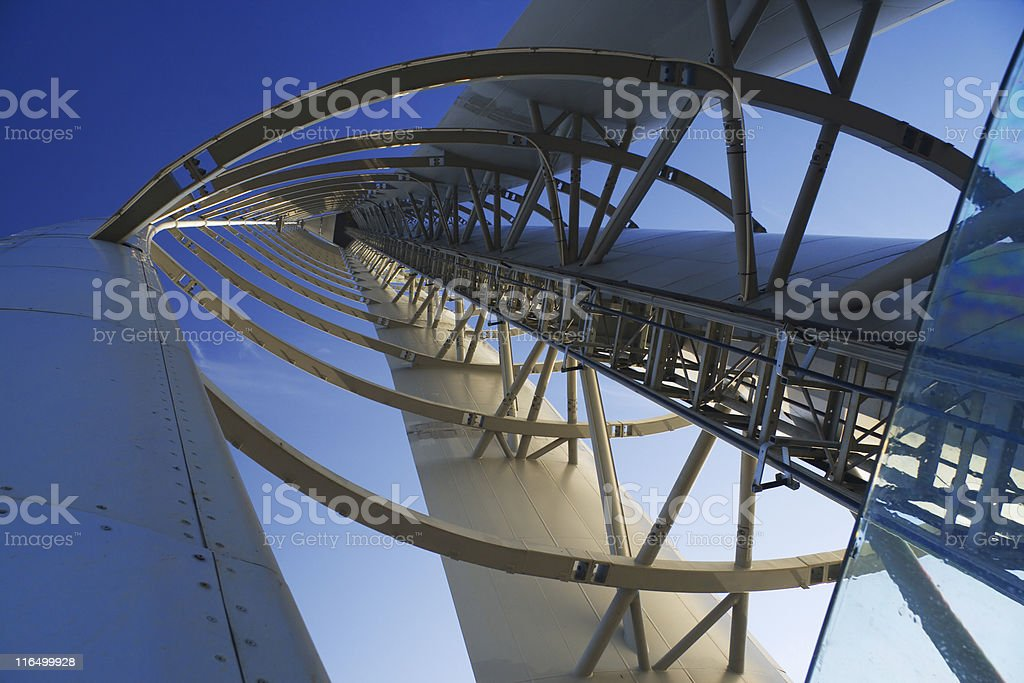 tower perspective royalty-free stock photo