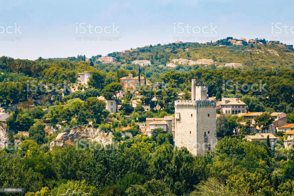 Tower Philippe le Bel, Villeneuve les Avignon, France stock photo