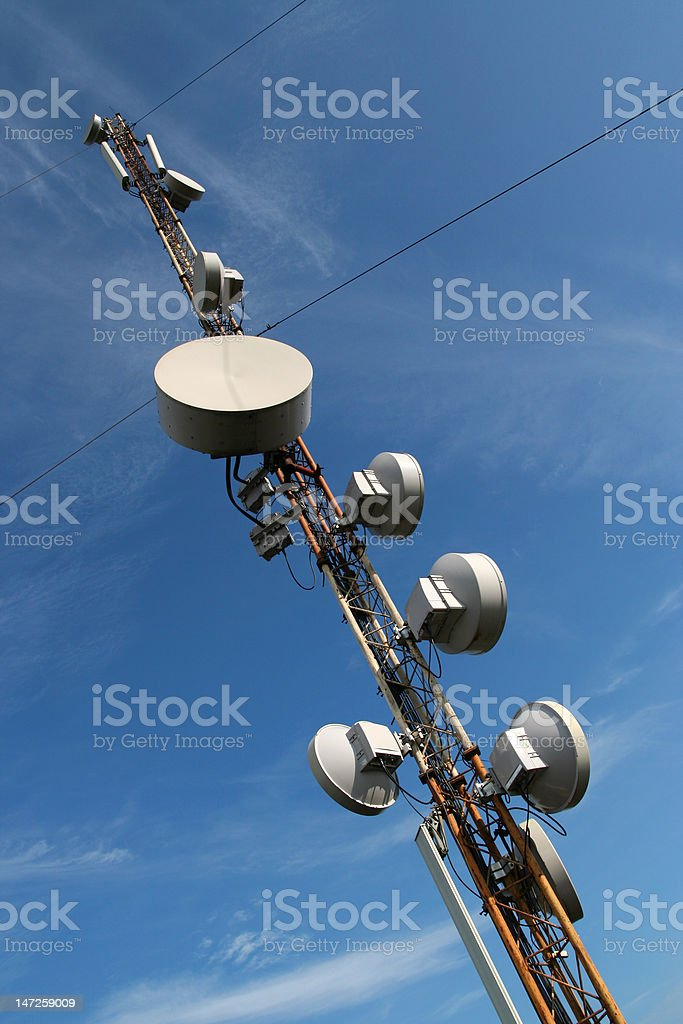 GSM tower. stock photo