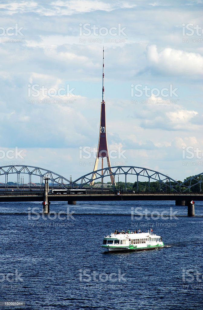 TV tower royalty-free stock photo