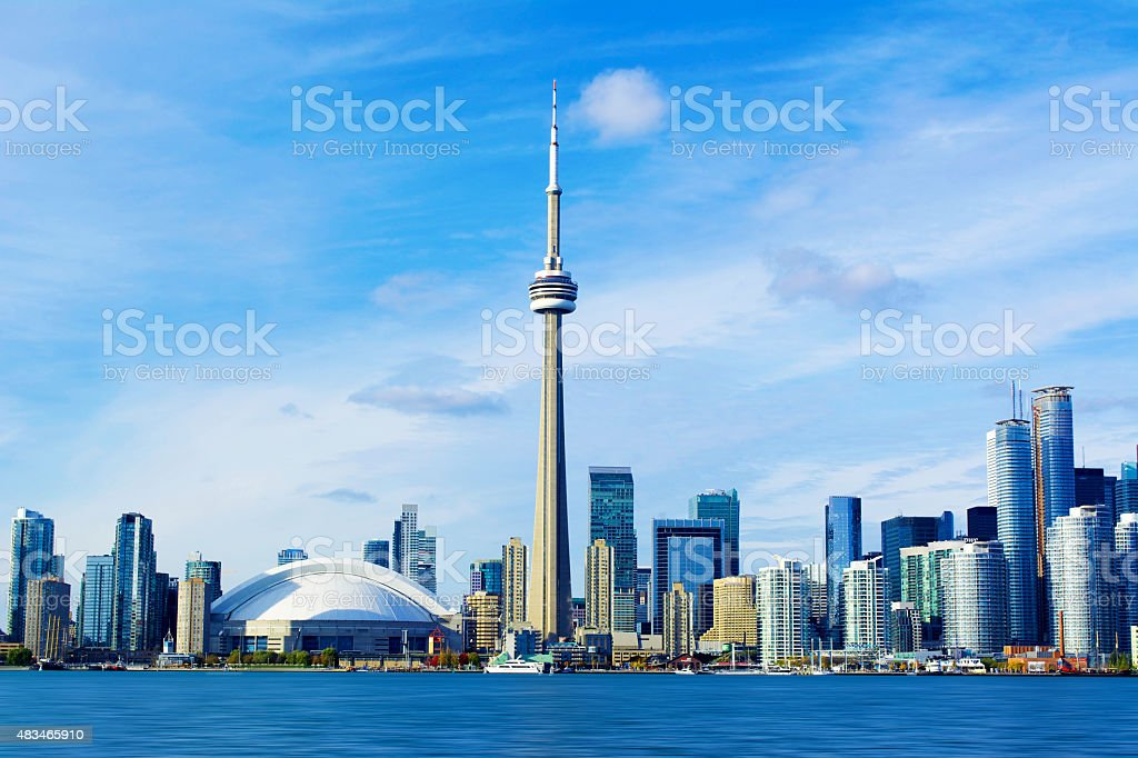 CN Tower stock photo