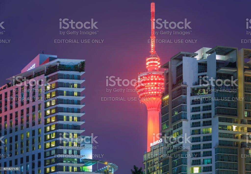 KL Tower stock photo