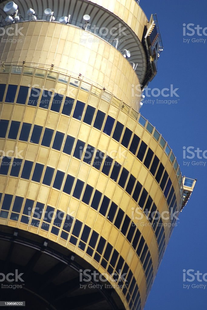 AMP Tower, Sydney royalty-free stock photo