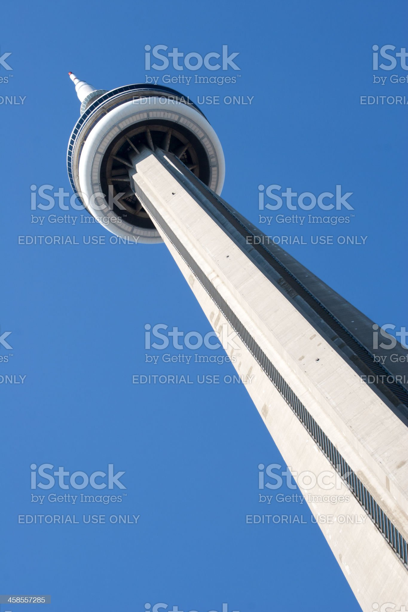 CN Tower, Toronto Canada royalty-free stock photo