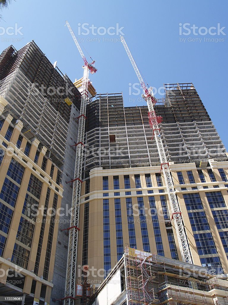 Tower Under Construction - 2 royalty-free stock photo