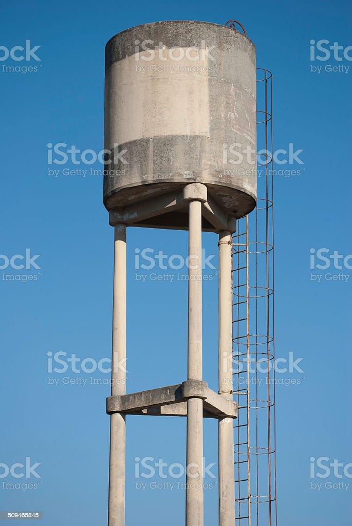 Tower water tank stock photo