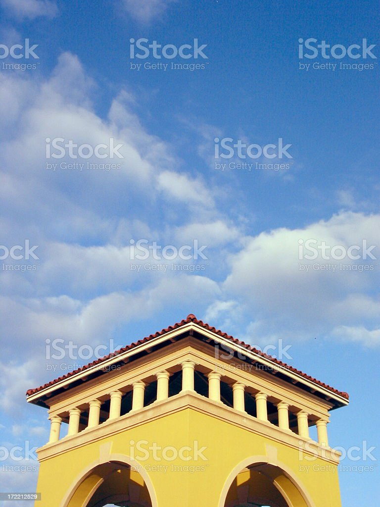 Towering to the Sky royalty-free stock photo