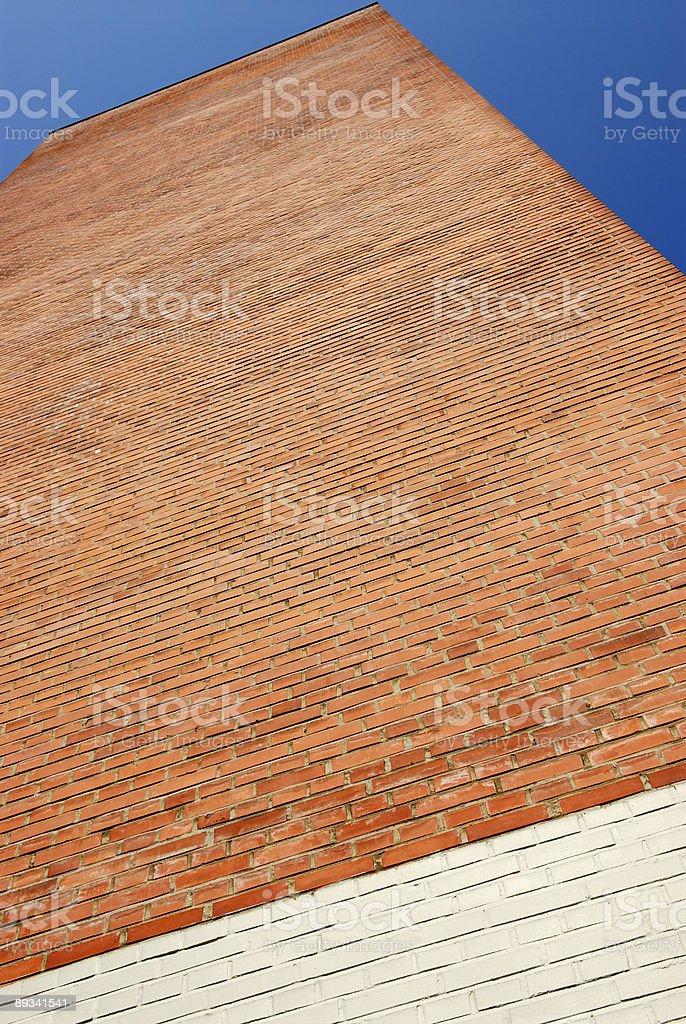Towering Wall stock photo