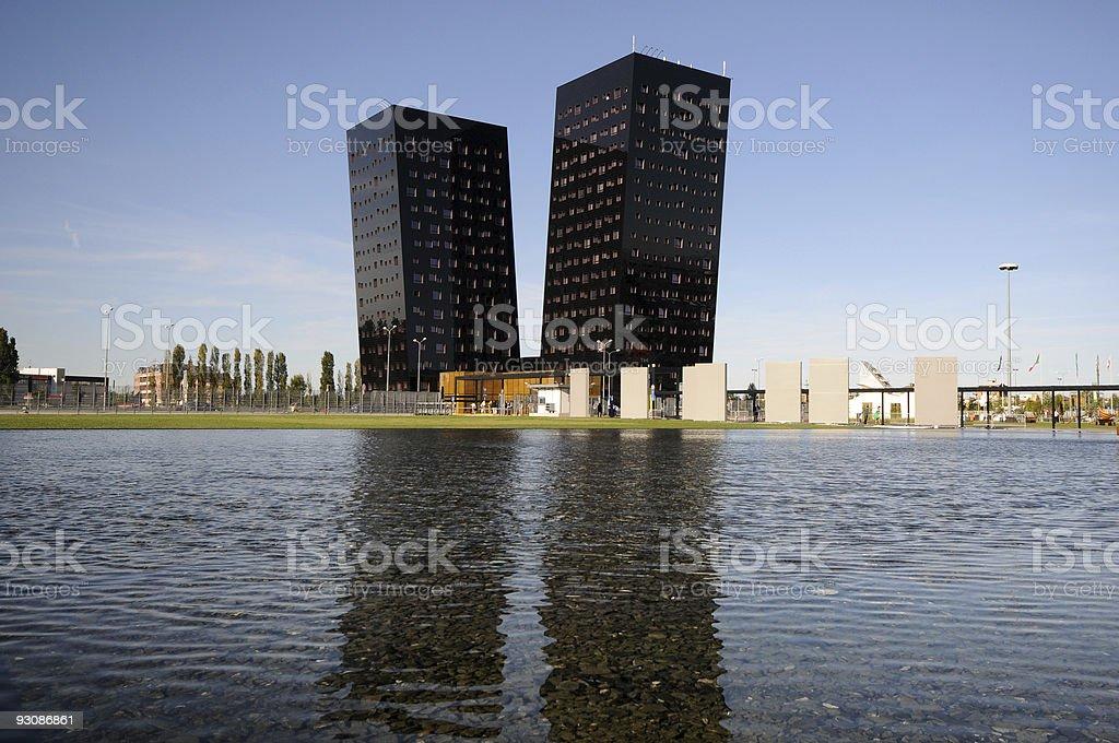 Towers stock photo