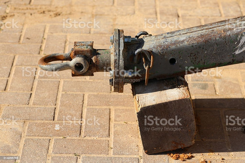 Towing Hitch stock photo