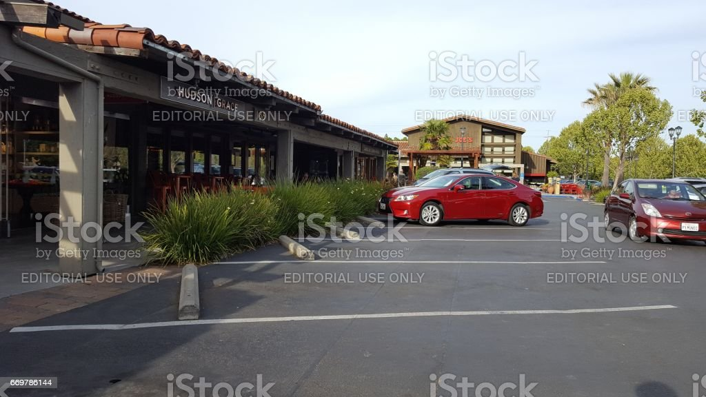Town And Country Village stock photo