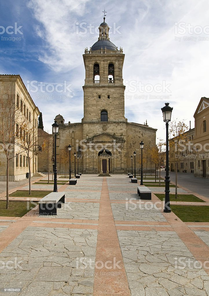 Town cathedral royalty-free stock photo