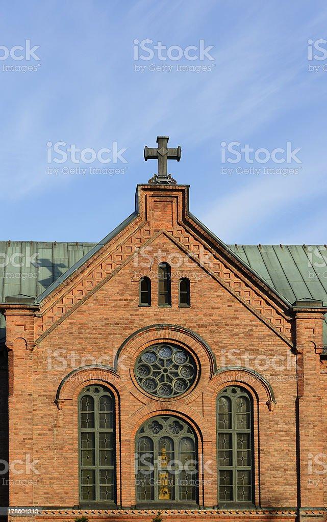 Town Church royalty-free stock photo