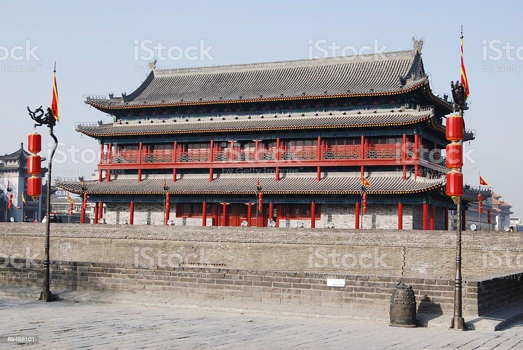 Town Gate royalty-free stock photo
