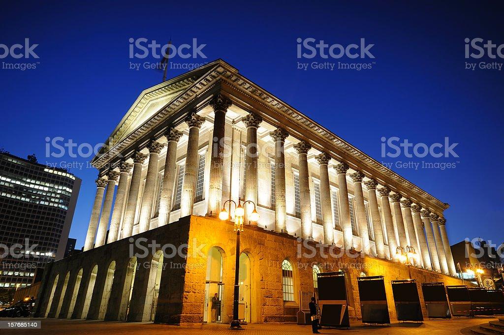 Town Hall, Birmingham royalty-free stock photo