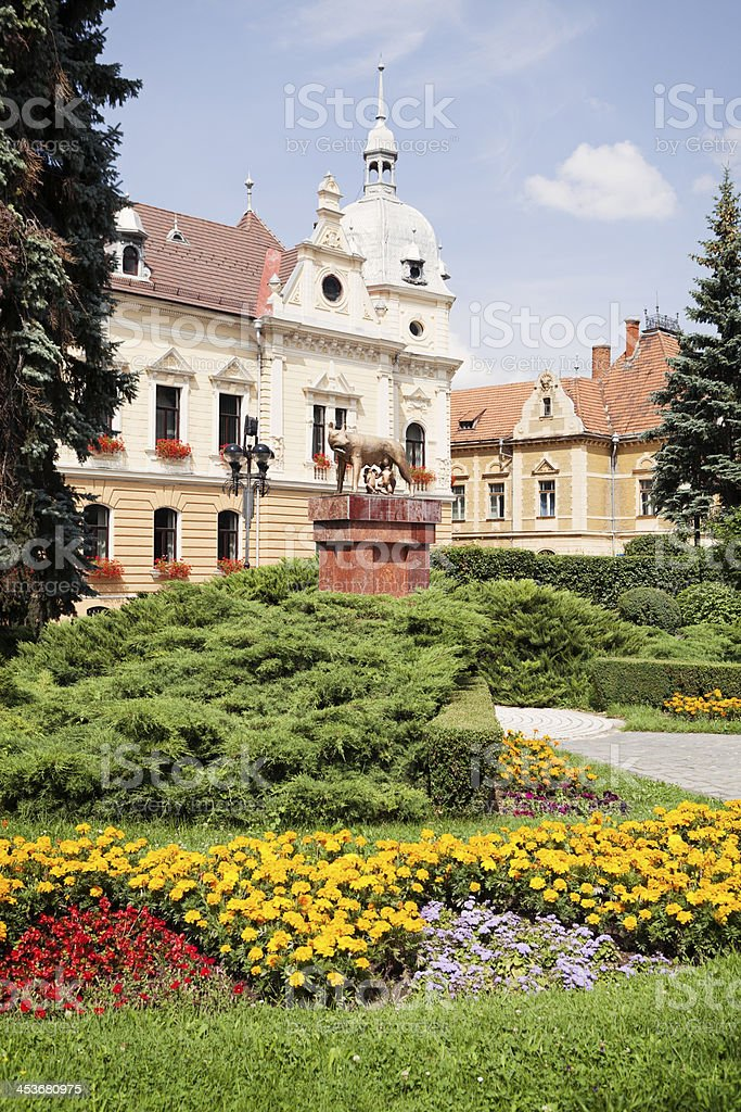 Town Hall Brasov Romania stock photo