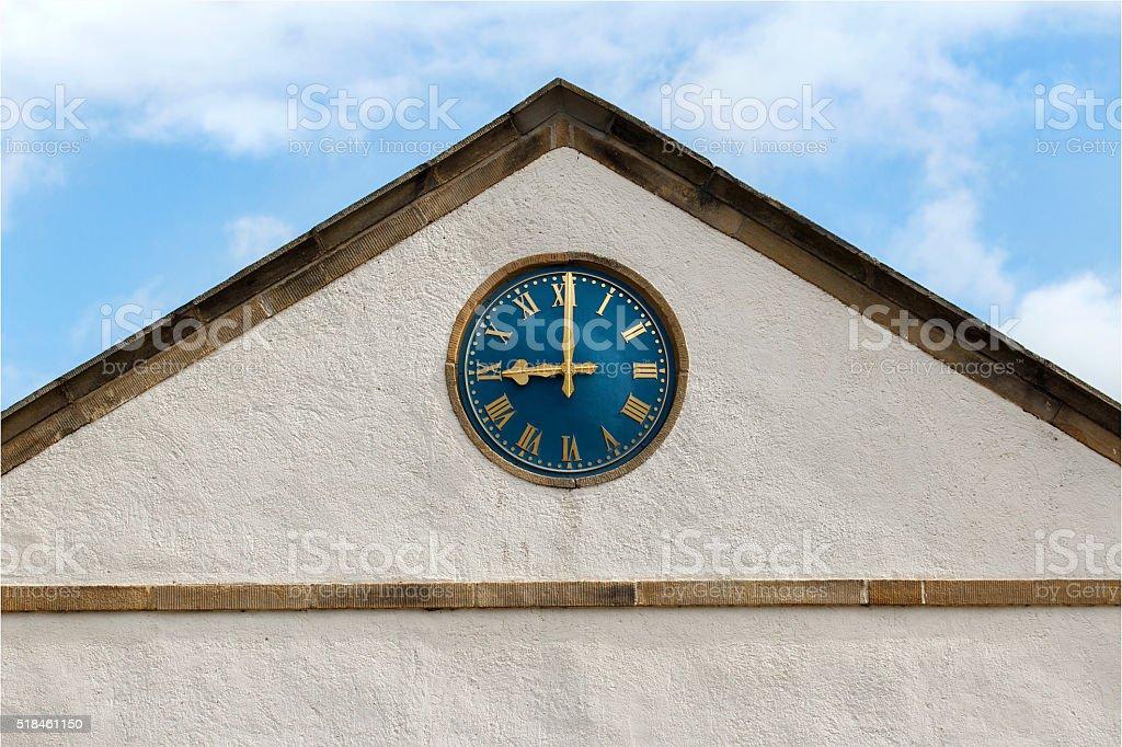 Town Hall Clock stock photo