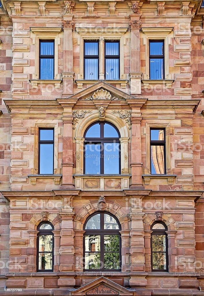 タウンホールの正面玄関 ロイヤリティフリーストックフォト