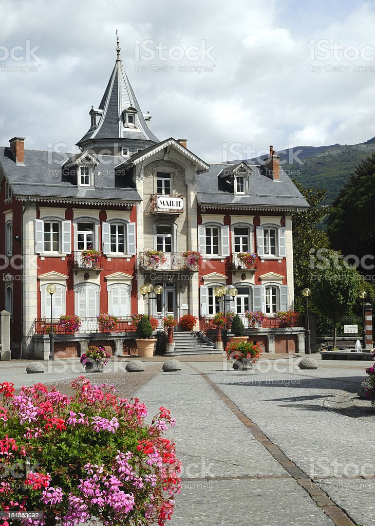 'Town Hall, France (Marie)' stock photo