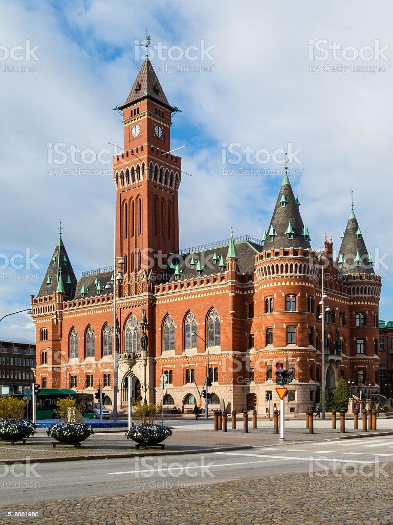 Town Hall, Helsinborg, Sweden stock photo