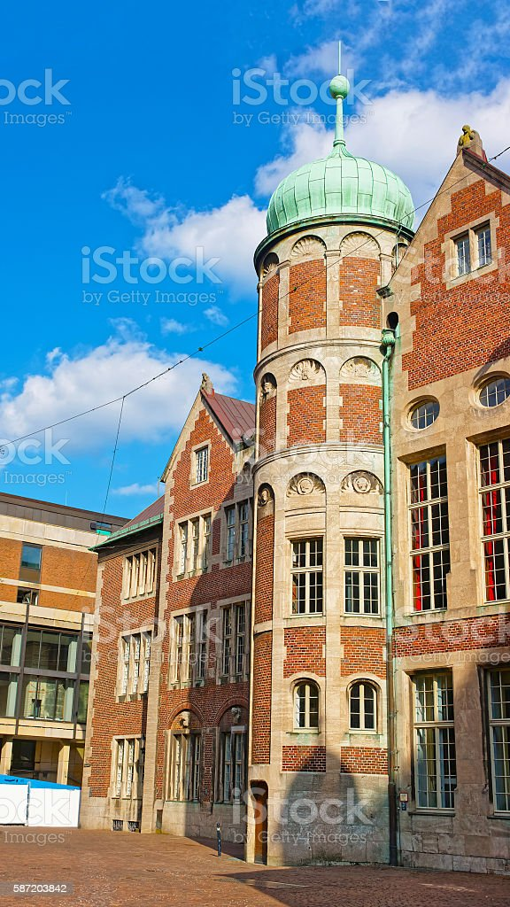 Town Hall in Bremen in Germany stock photo