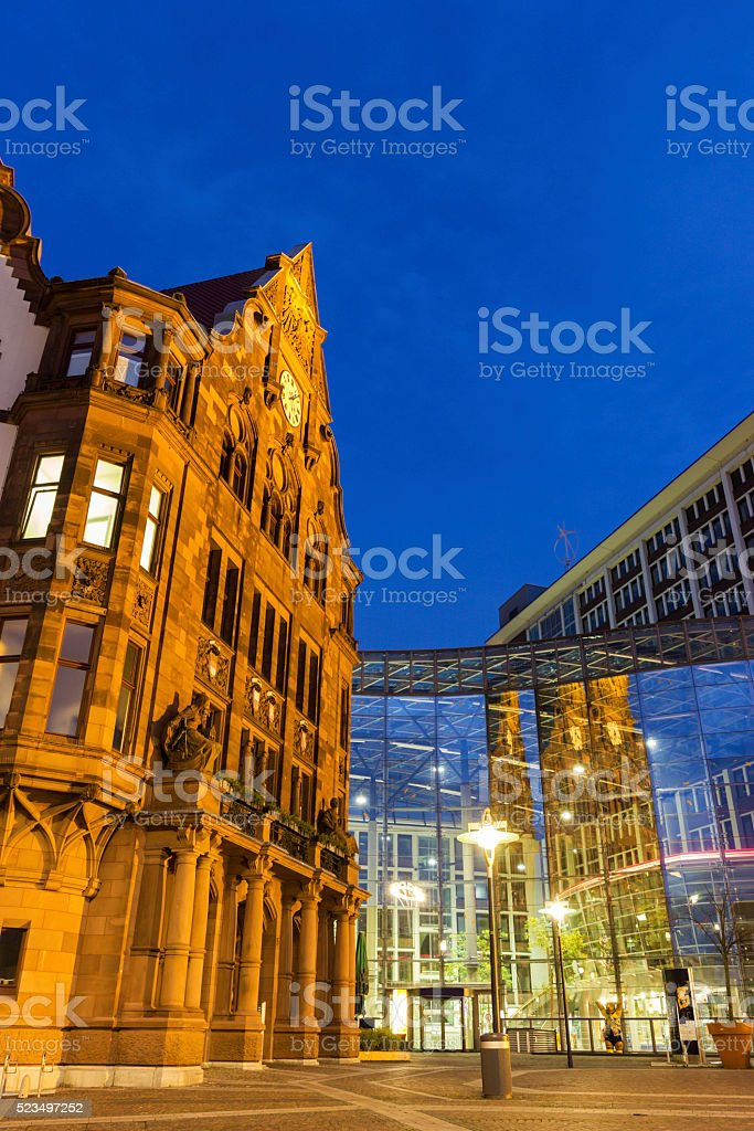 Town Hall in Dortmund in Germany stock photo
