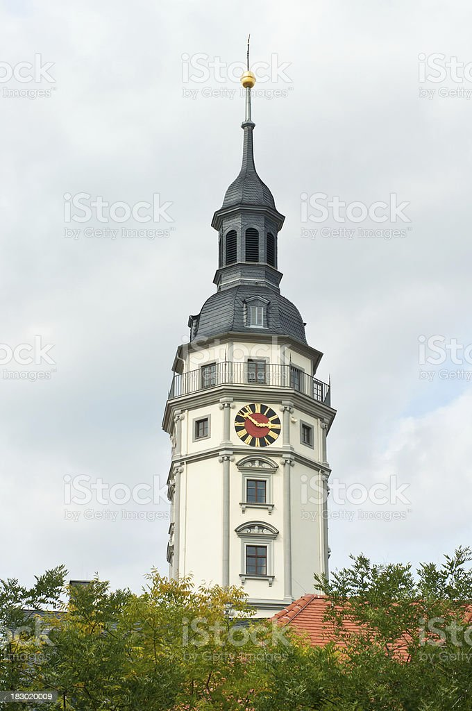 Town hall in Gera, Thuringia, Germany stock photo