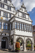 Town hall in the historical center of Paderborn