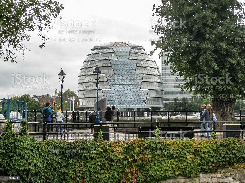 Town Hall London England stock photo