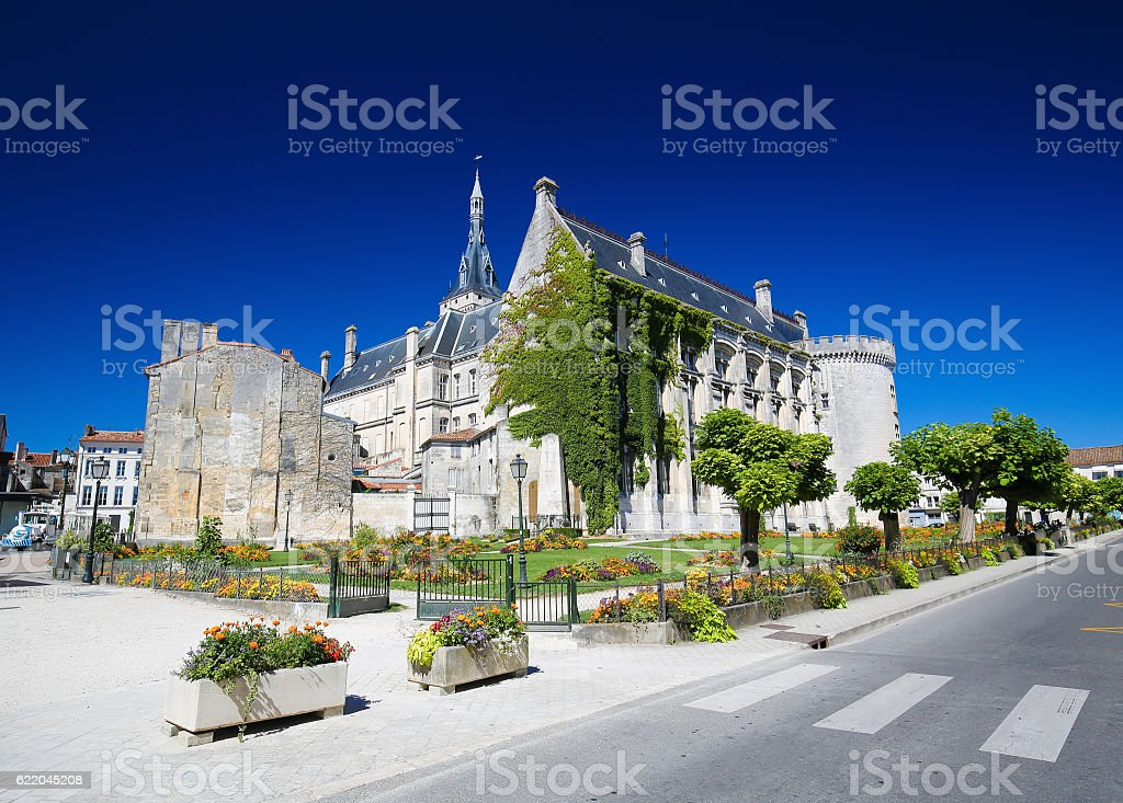 Town Hall of Angouleme, France. stock photo
