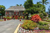 Town hall of Saint Leu on La Reunion island