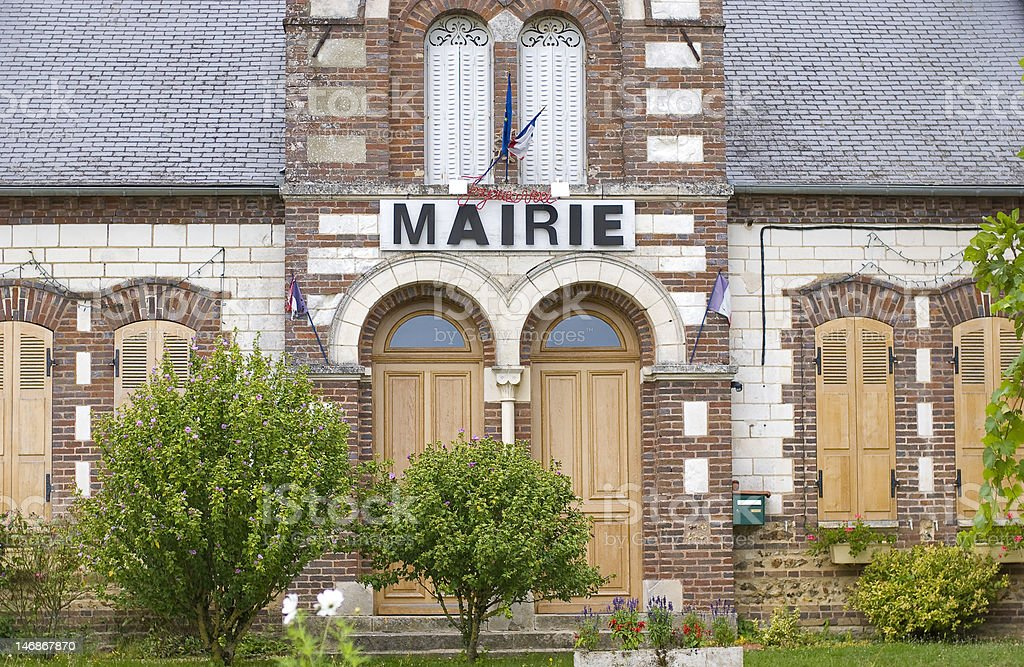 Mairie stock photo
