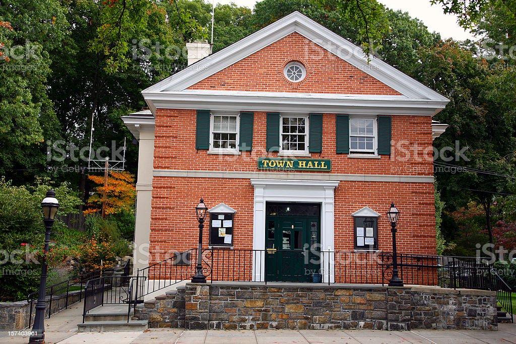 Town Hall stock photo