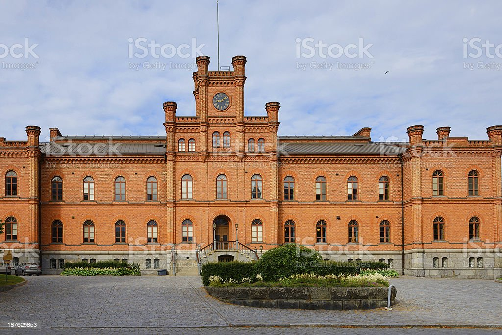 Town Hall Vaasa stock photo