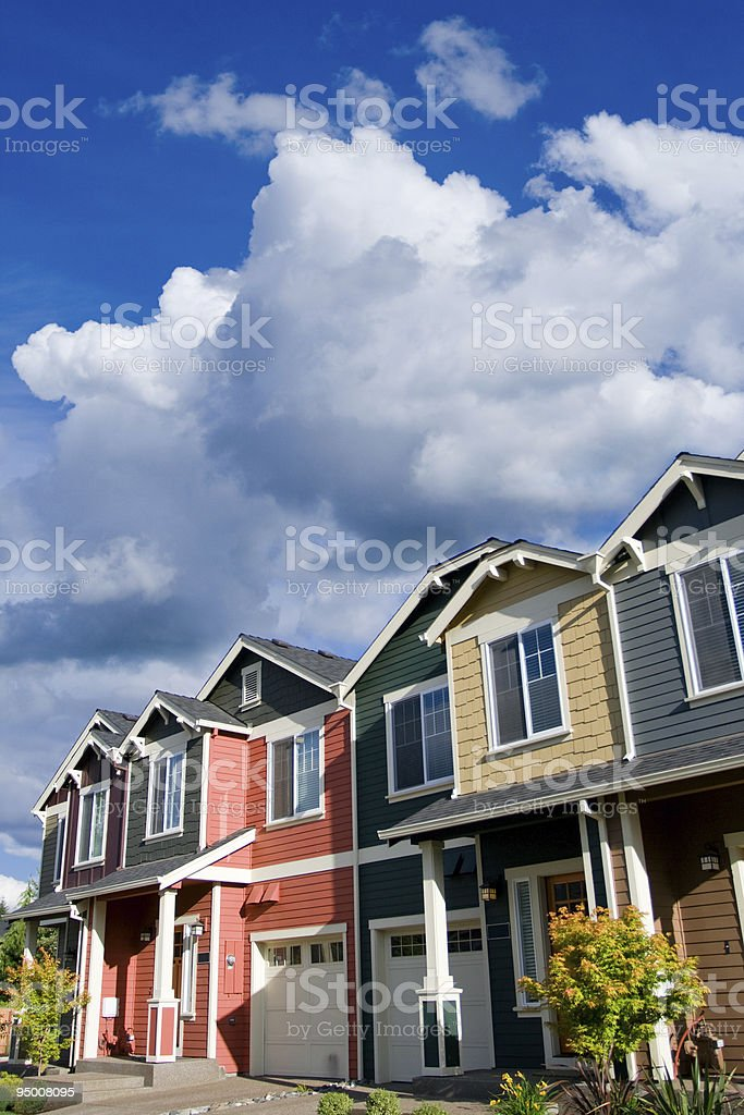 Town House royalty-free stock photo