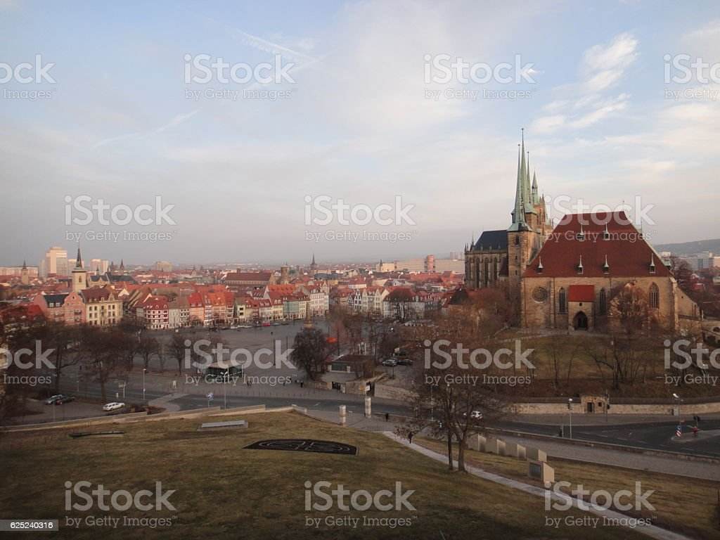 Town in Germany stock photo