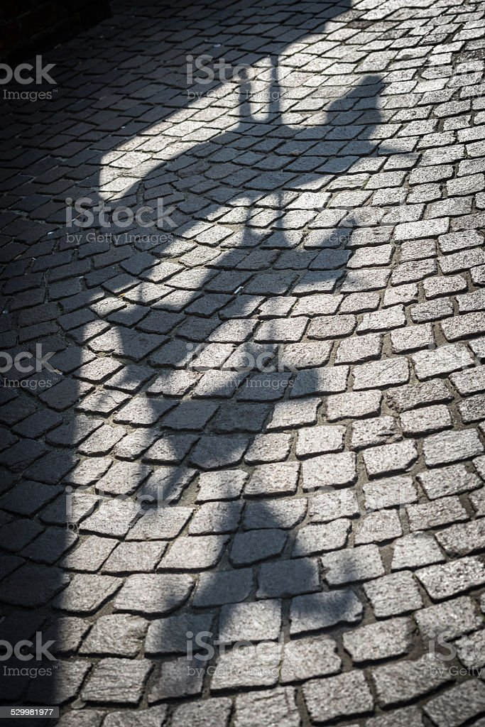 Town Musicians of Bremen - Shadow stock photo