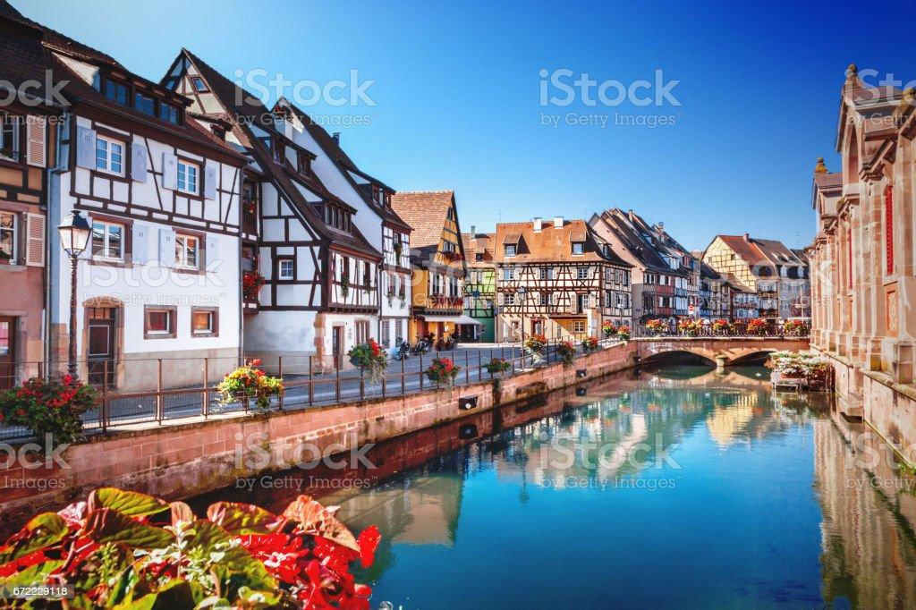 Town of Colmar stock photo