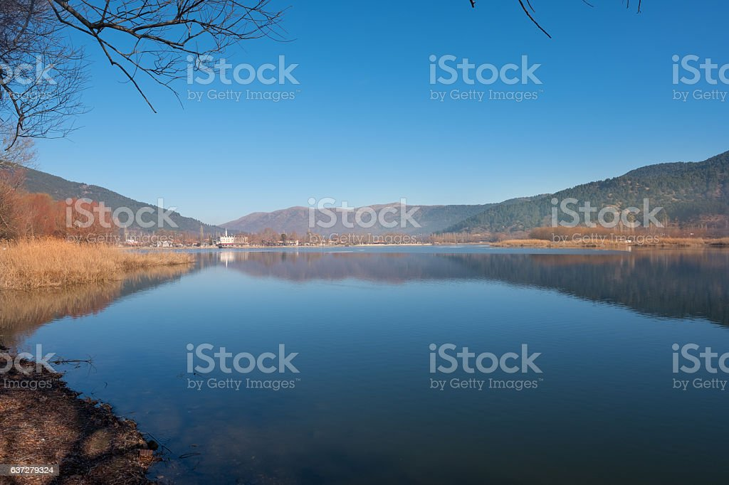 Town of Golcuk with beautiful background stock photo