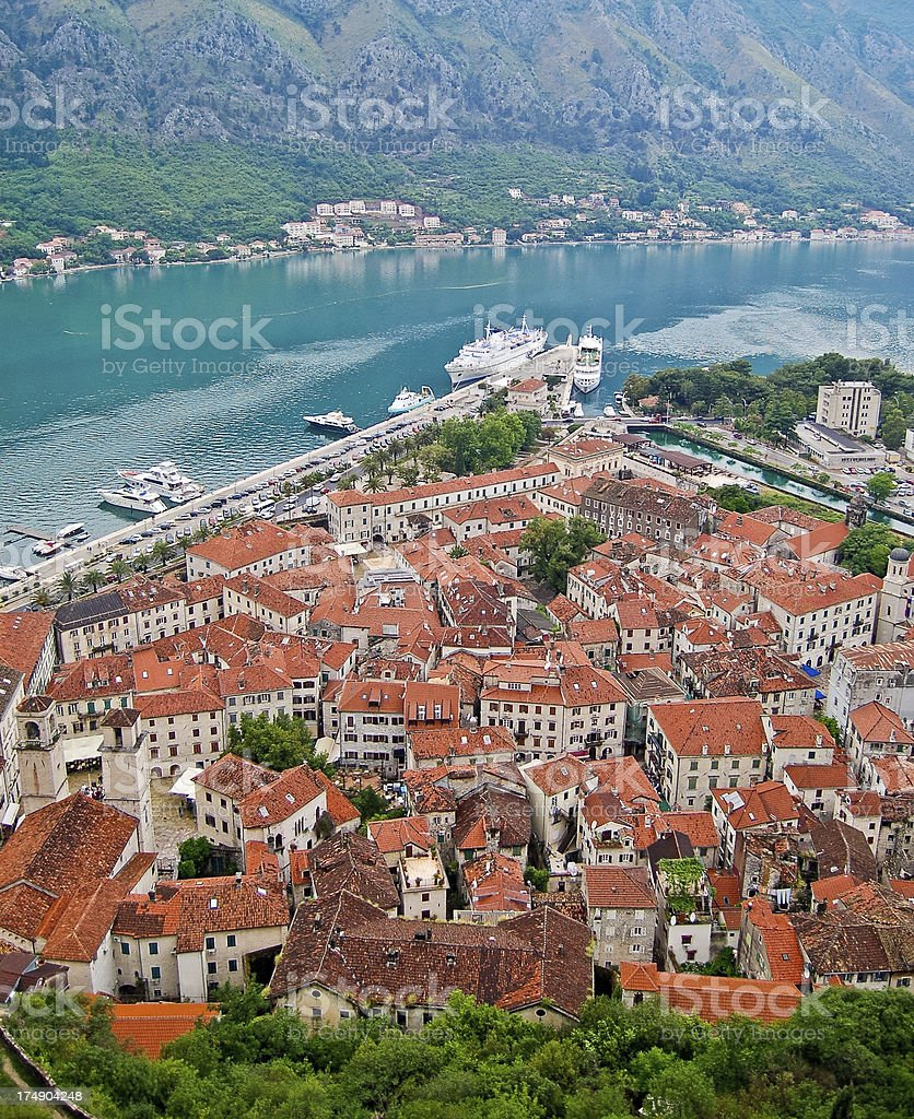 Town of Kotor royalty-free stock photo