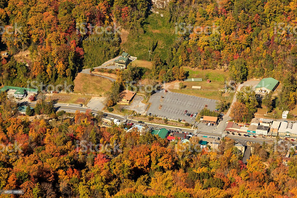 Town of Lake Lure stock photo