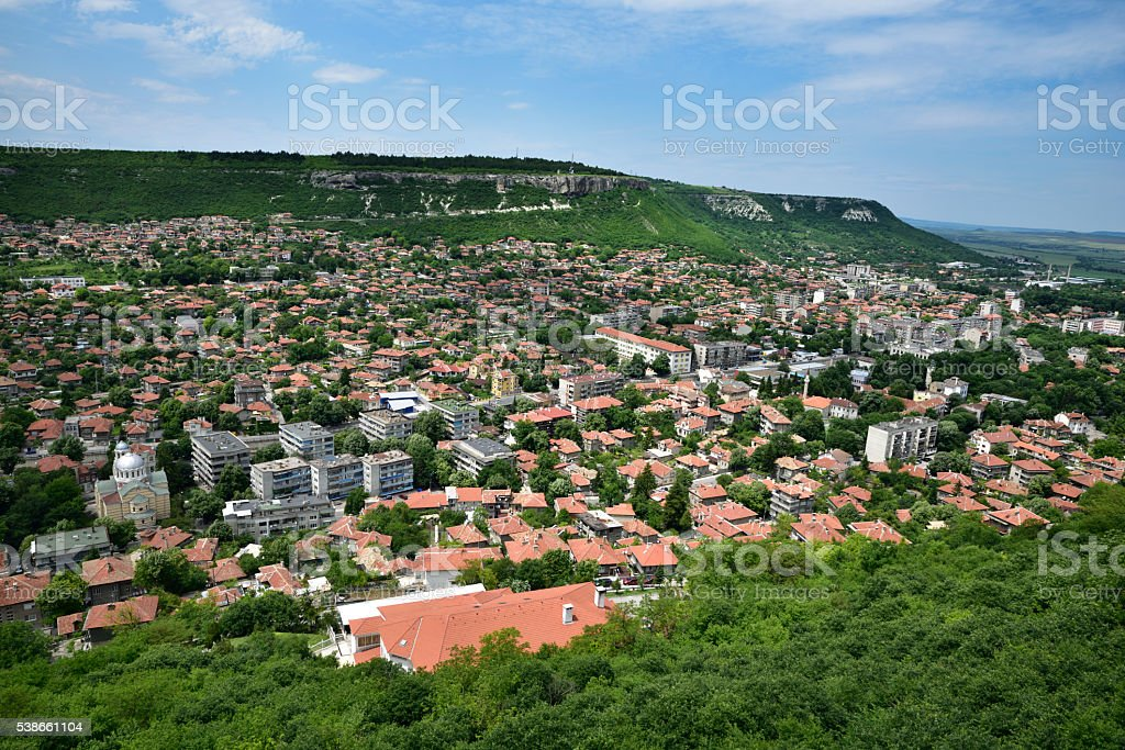 Town of Provadia, Varna province, Bulgaria stock photo
