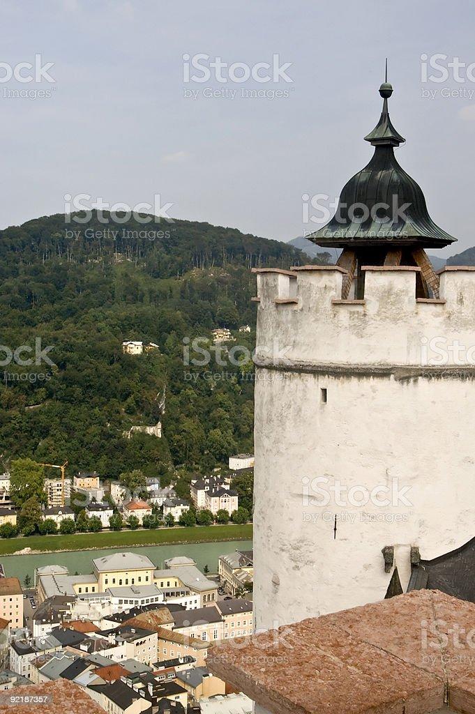 Town of Salzburg stock photo