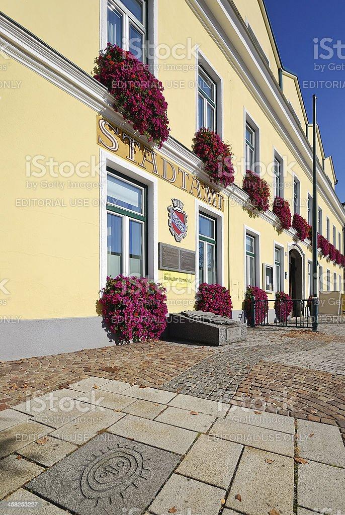 Stadtamt von Schrems in Niederösterreich royalty-free stock photo