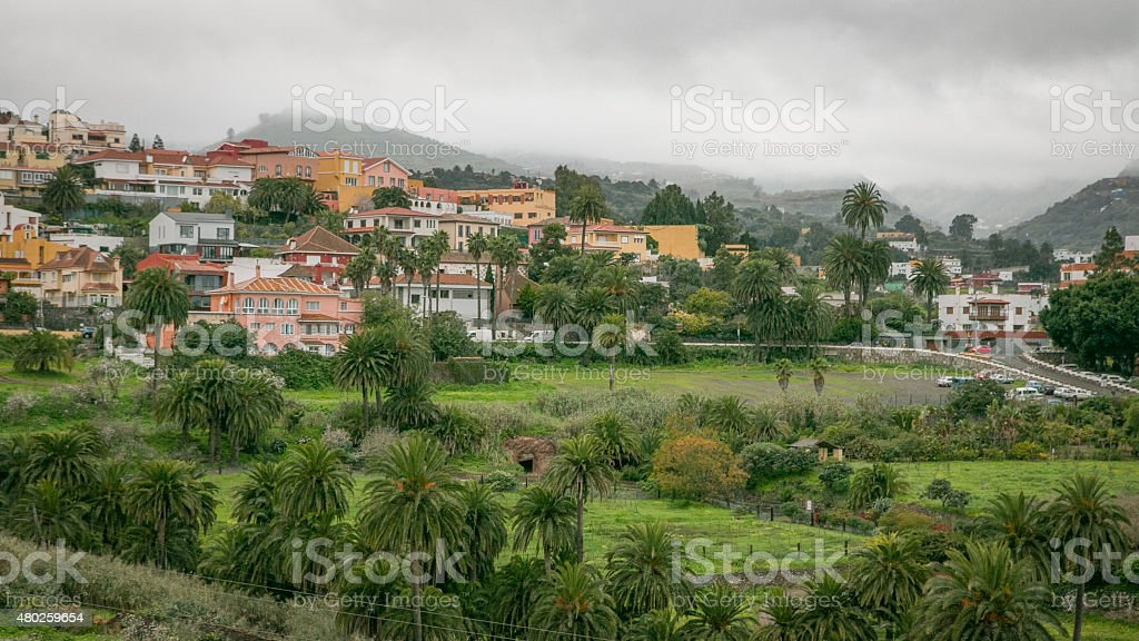 Town on Gran Canaria royalty-free stock photo