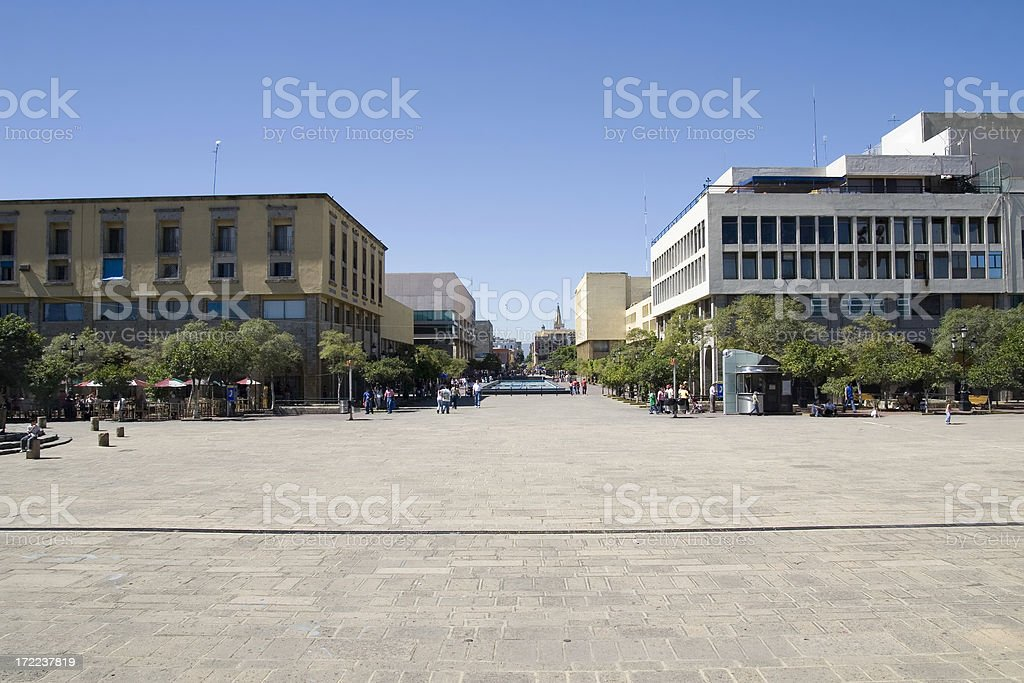 town square royalty-free stock photo