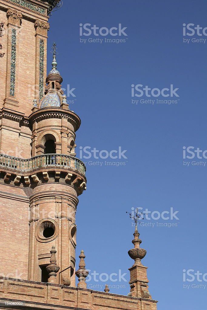 Town Square, Sevilla royalty-free stock photo