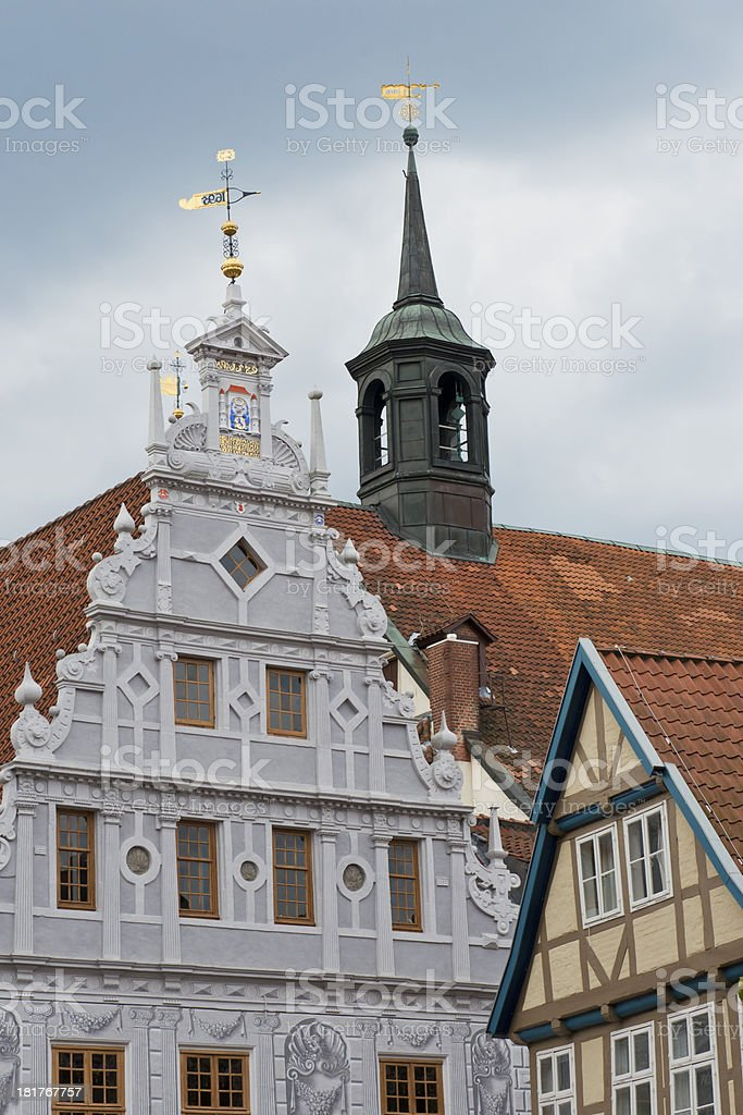 Town-hall of Celle, Germany royalty-free stock photo