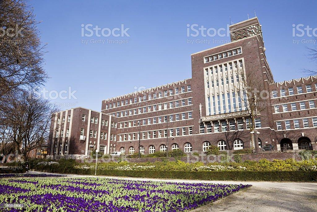 townhall of Oberhausen stock photo
