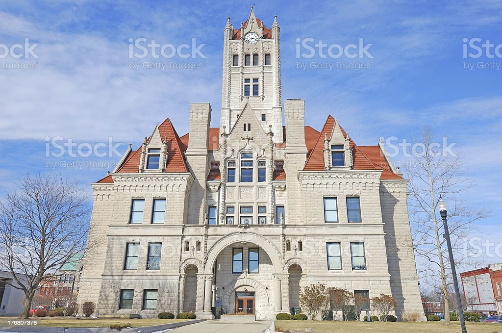 townhall royalty-free stock photo